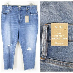 Madewell Plus Size The Perfect Vintage Jeans NWT